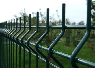 V Curved Welded Wire Fence / Galvanized Welded Wire Fabric Corrosion Resistance